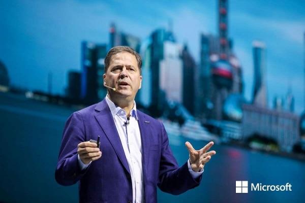 柯睿杰:客户和合作伙伴的成功才是微软的成功