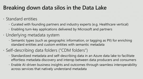 微软通用数据模型,用户需要了解些什么?