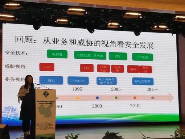 启明星辰集团CEO严望佳受邀参加首届中国网络安全产业高峰论坛并作主题演讲