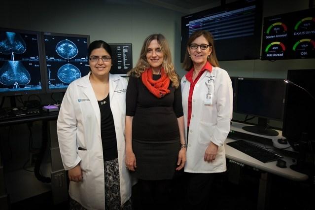 三位女科学家联手,用AI算法将乳腺癌的筛查速度提高了100倍