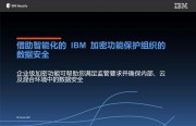 借助智能化的 IBM 加密功能保护组织的数据安全