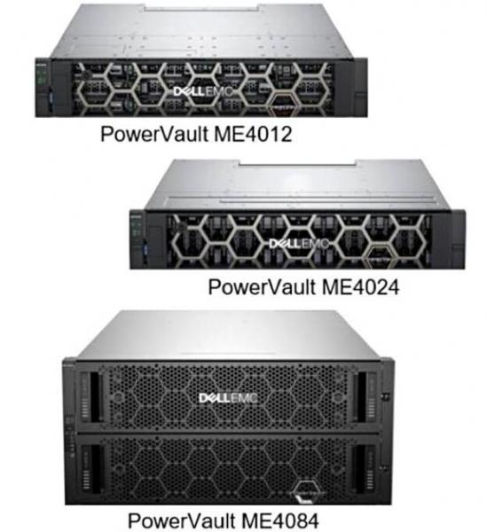 戴尔-EMC表示我行我也上:三款全新PowerVault ME4阵列相继出炉