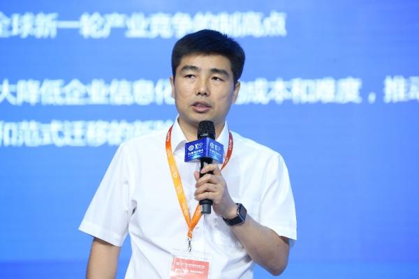 徐工信息张启亮:工业互联网 工业新引擎