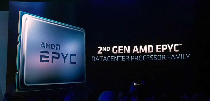 第二代AMD EPYC�理器亮相:利�Τ銮� 持�m�_����中心市��