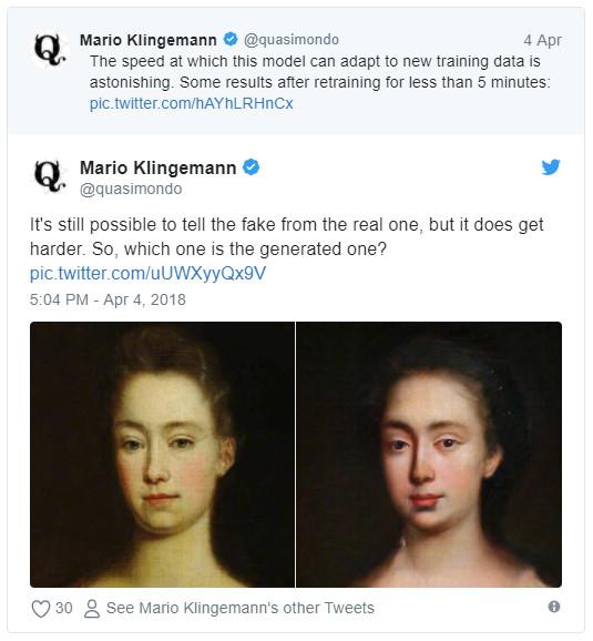 人工智能学会画油画,你能分辨出和人类大师作品的差异吗?
