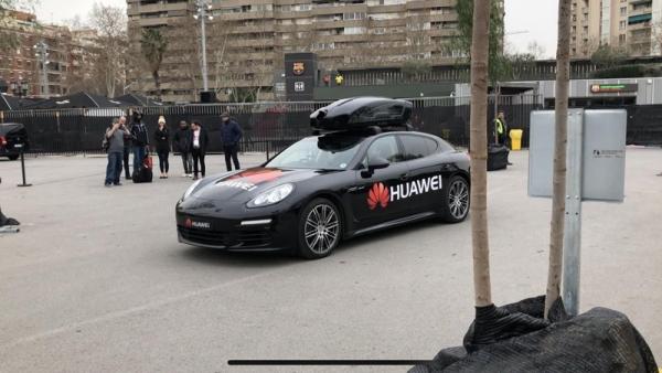 华为手机智能水平创新高——可驾驶保时捷汽车