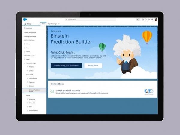 Salesforce升级Einstein AI平台新增定制分析和聊天机器人功能