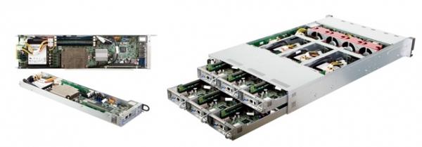 杰和2U6节点,适用于云计算的高密度服务器
