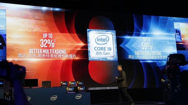 英特尔第八代酷睿又一个里程碑:6核 i9移动CPU登陆