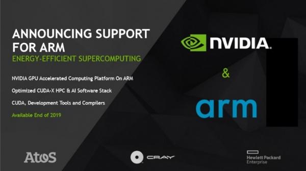 扩展对主流CPU的支持 NVIDIA宣布支持Arm为百万兆级超算开辟新路径