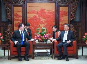 新戴尔科技集团成后首次访华:迈克尔 戴尔重申对中国长期承诺不变