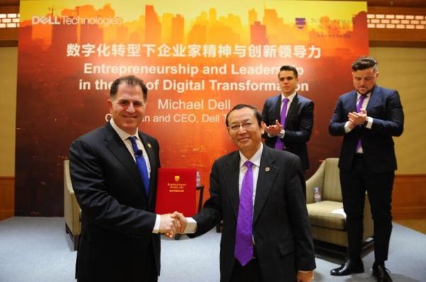 新戴尔科技集团成后首次访华:迈克尔•戴尔重申对中国长期承诺不变