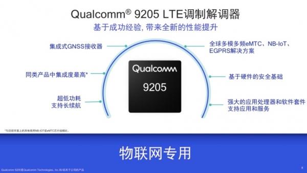 解析高通9205芯片:专为物联网量身定做,