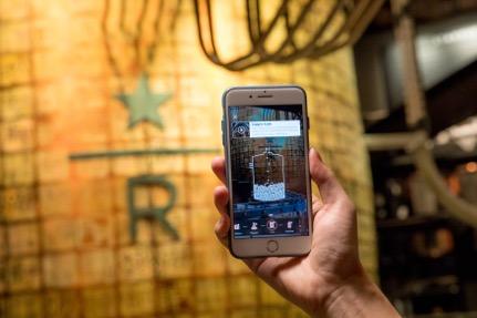 除了卖咖啡,星巴克还想通过阿里的AR技术向你售卖咖啡文化
