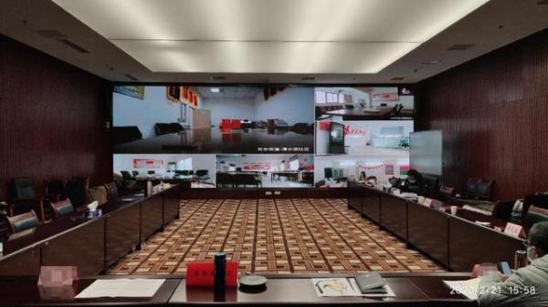"""极限挑战 武汉东湖高新区""""秒建""""社区视频会议系统"""