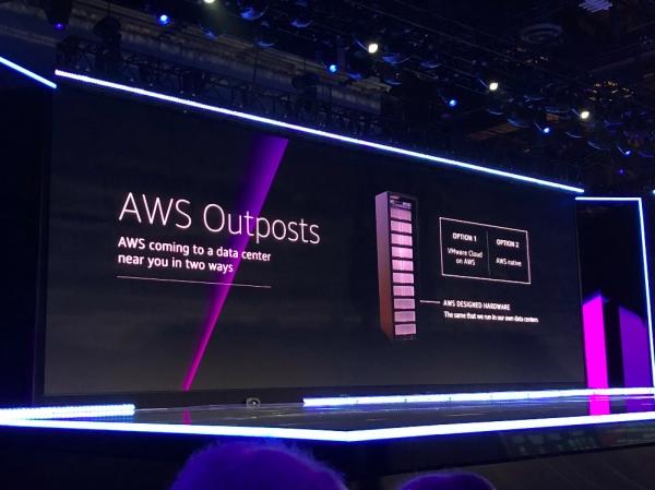 AWS首谈混合架构 发布AWS Outposts