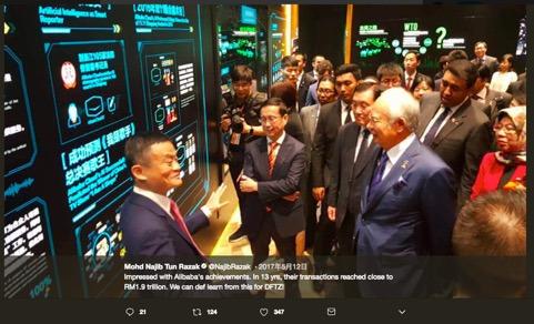 阿里云ET城市大脑为吉隆坡治堵