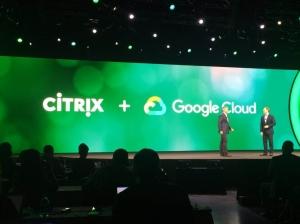 思杰�⑼瞥鲞m用谷歌云的Citrix Workspace