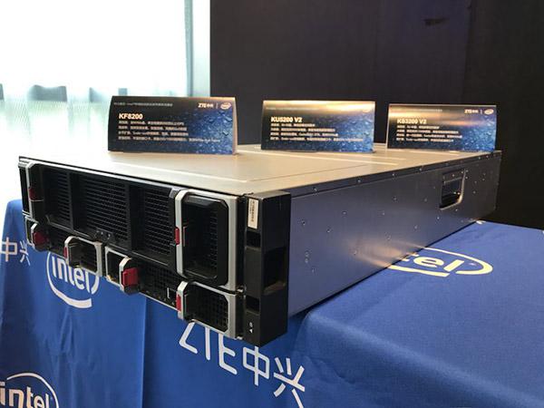 中兴通讯联合Intel®发布灵动融合的新一代存储产品