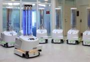 自主机器人在行动:协助医院杀灭新冠病毒