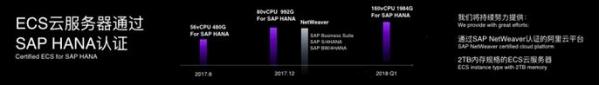 阿里云ECS云服务器通过SAP HANA认证 海量数据处理技术助力企业数字化转型