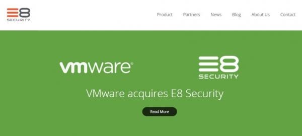 VMware收购E8 Security加强设备管理功能