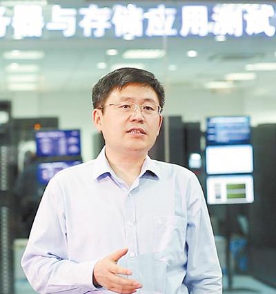 """浪潮集团执行总裁、中国工程院院士王恩东: """"超级脑""""领跑世界"""