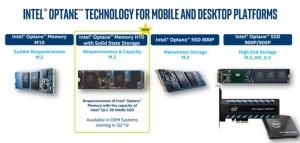购买英特尔傲腾增强型固态硬盘,用户既可以省钱又能让电脑体验变的更好