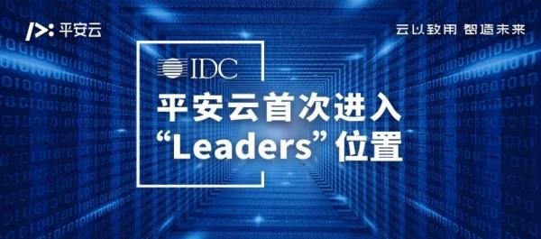 平安云跻身IDC报告中国金融行业云领导者位置