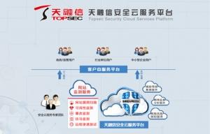 2017年度至顶网凌云奖:天融信安全云服务平台