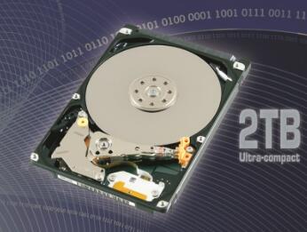 东芝推出新的消费级2TB硬盘
