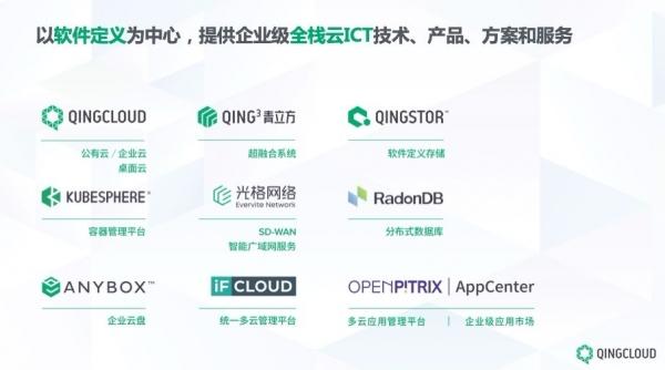从云之基石到数字化转型基石 青云QingCloud重构企业未来竞争力