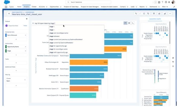 Salesforce推自然语言查询服务及可视化工具 旨在支持业务用户分析