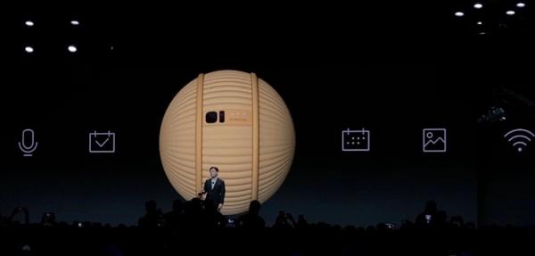 CES2020:三星发了一个球,外形酷似BB-8,但它是一个陪伴机器人