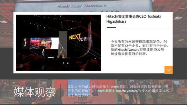 Hitachi NEXT 2019大会亮点回顾