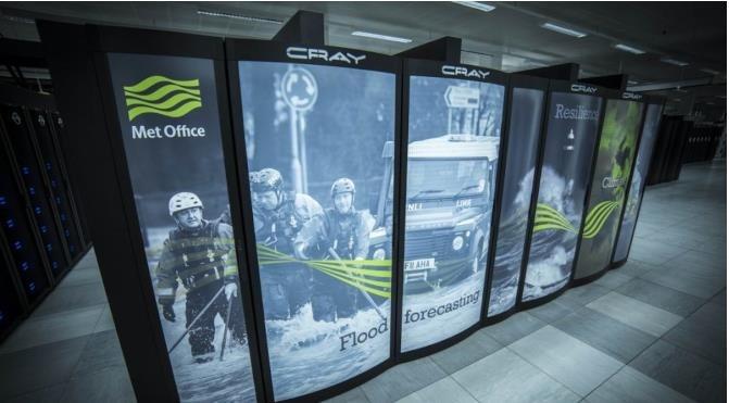 HPE Cray将为英国气象局打造16亿美金天气预报专用超级计算机