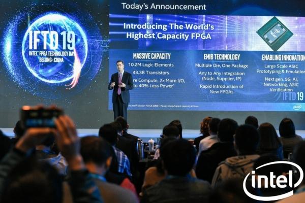 助力下一代ASIC创新 英特尔推出采用CHIPLET封装技术的业界最大容量FPGA
