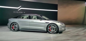 索尼造车,CES发布首款电动概念车Vision-S