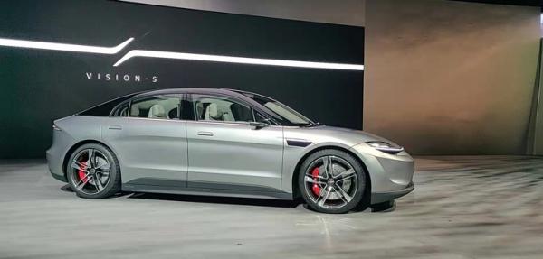 SONY造车,CES发布首款电动概念车Vision-S