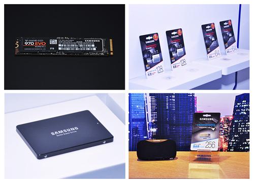 2018三星品牌四款新品正式面世 NVMe SSD成主流