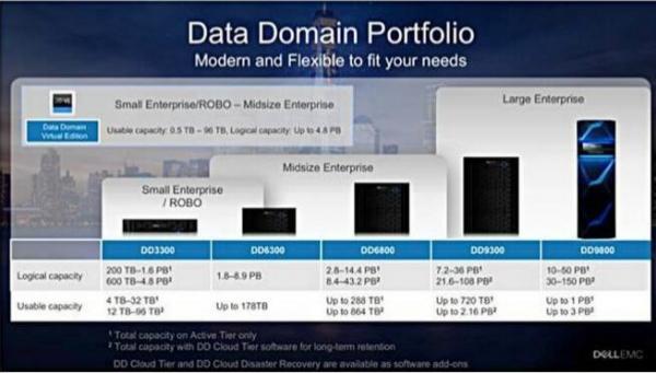 戴尔易安信发布低端Data Domain解决方案