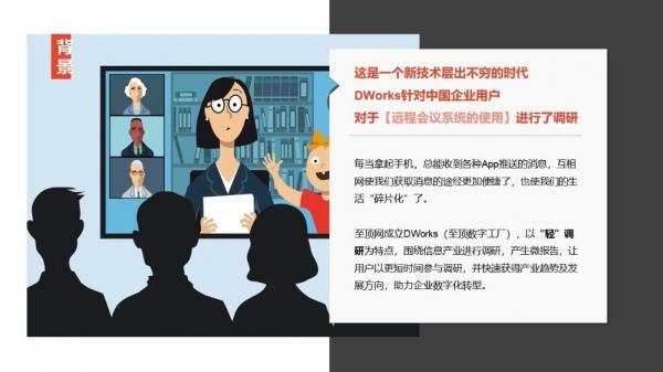 远程会议系统用户调查