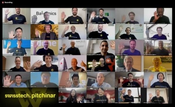 20家瑞士科技初创企业亮相首届SwissTech线上创投大赛