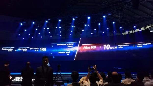 关键时刻做减法,HUAWEI CONNECT上聚焦计算,发布全球最快AI训练集群