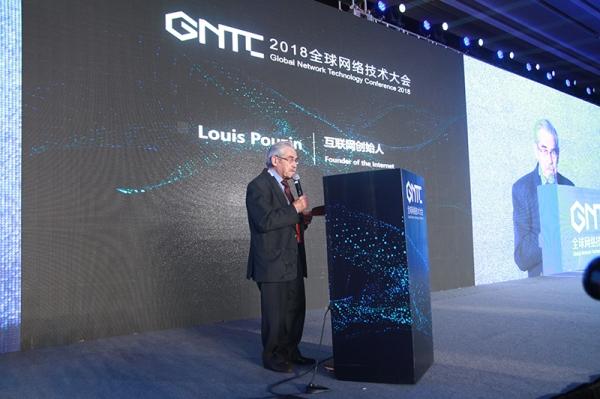 互联网创始人、2012互联网名人堂入选者Louis Pouzin致辞