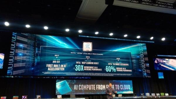 强化AI加速性能,英特尔宣布年中推出第三代至强可扩展处理器