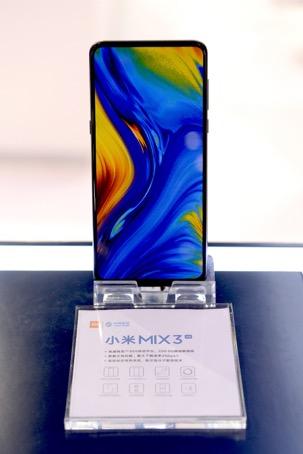 小米5G版MIX 3首展 下载速率2Gbps明年Q3可商用