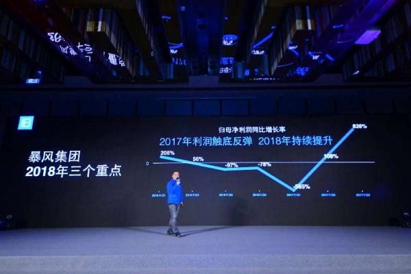 暴风TV获8亿投资,CEO冯鑫说这是公司过去12年融资的总和