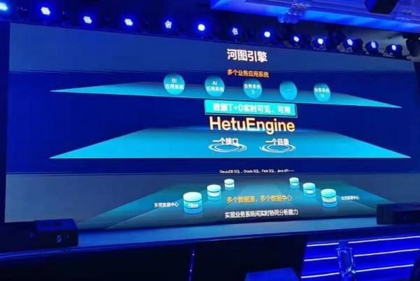 快讯:华为推出像使用数据库一样使用数据的虚拟化引擎HetuEngine