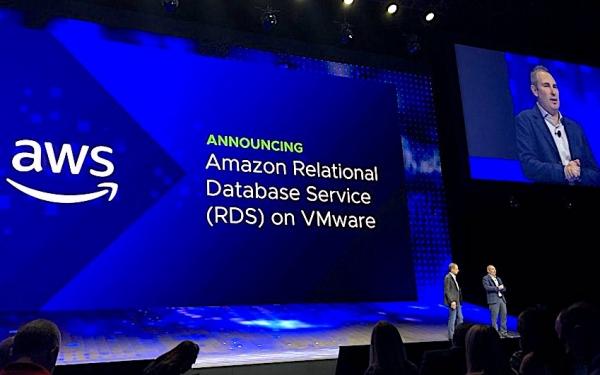 VMware扩展VMware Cloud on AWS服务 引入RDS数据库